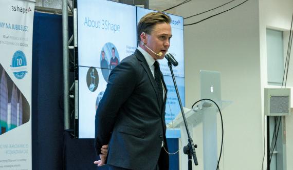 Christian Johnson, dyrektor 3Shape na Europę Wschodnią i Benelux będzie gościem honorowym VIII zjazdu IMP.
