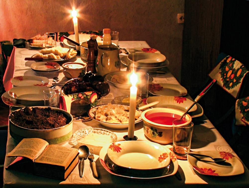Wigilia, Boże Narodzenie, stół, potrawy