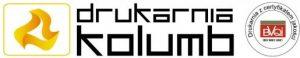 Logo drukarnni Kolumb