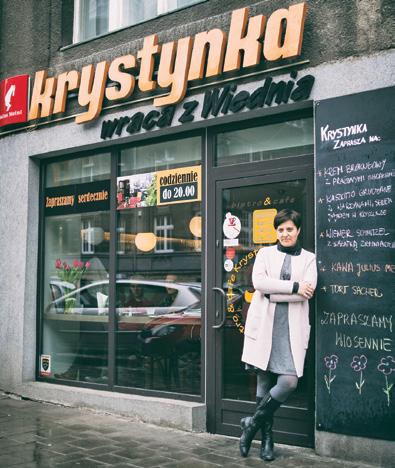 """Bistro & cafe """"Krystynka wraca z Wiednia"""""""
