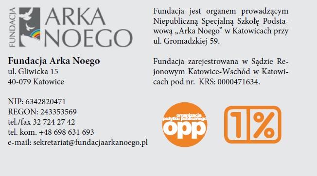 Arka Noego, fundacja, Dzieci z zespołem Downa, Katowice
